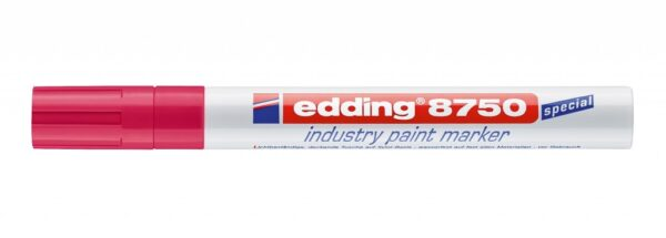 Industrijski paint marker E-8750 2-4mm crvena Edding