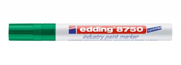 Industrijski paint marker E-8750 2-4mm zelena Edding