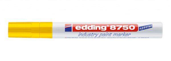 Industrijski paint marker E-8750 2-4mm žuta Edding