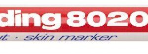 "Marker za kožu E-8020 ""Skin marker"" 1mm crvena Edding"