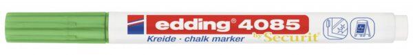 Marker za staklo CHALK MARKER E-4085 1-2mm metalik zelena Edding