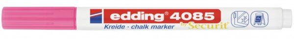 Marker za staklo CHALK MARKER E-4085 1-2mm neon roze Edding
