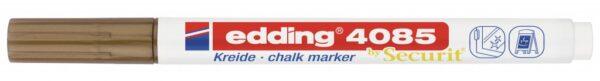 Marker za staklo CHALK MARKER E-4085 1-2mm standard bronza Edding
