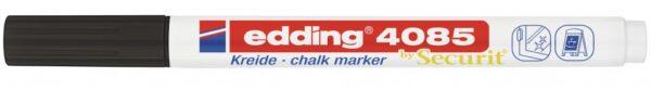 Marker za staklo CHALK MARKER E-4085 1-2mm standard crna Edding