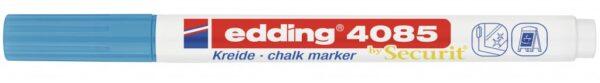 Marker za staklo CHALK MARKER E-4085 1-2mm standard svetlo plava Edding