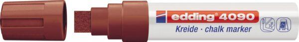 Marker za staklo CHALK MARKER E-4090 4-15mm braon Edding