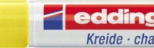 Marker za staklo CHALK MARKER E-4095 2-3mm žuta Edding