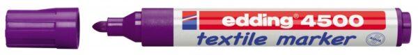 Vodootporni marker T-SHIRT E-4500 2-3mm šljiva Edding