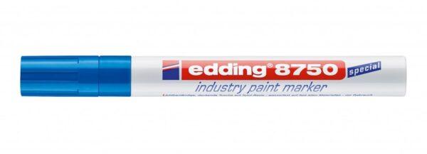 Industrijski paint marker E-8750 2-4mm plava Edding