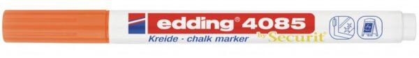 Marker za staklo CHALK MARKER E-4085 1-2mm neon narandžasta Edding