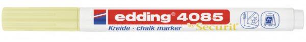 Marker za staklo CHALK MARKER E-4085 1-2mm pastel žuta Edding