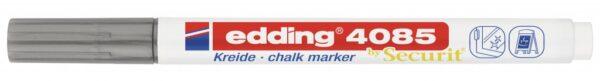 Marker za staklo CHALK MARKER E-4085 1-2mm standard srebrna Edding