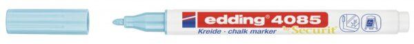 Marker za staklo CHALK MARKER E-4085 1-2mm pastel plava Edding