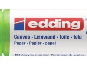 Akrilni marker E-5000 broad 5-10mm kosi vrh limun zelena Edding