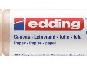 Akrilni marker E-5000 broad 5-10mm kosi vrh oker Edding