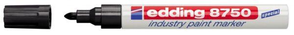 Industrijski paint marker E-8750 2-4mm crna Edding