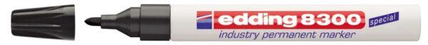 Industrijski permanent marker E-8300 1,5-3mm crna Edding