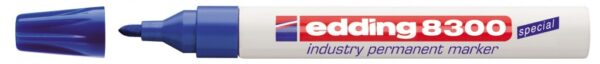 Industrijski permanent marker E-8300 1,5-3mm plava Edding