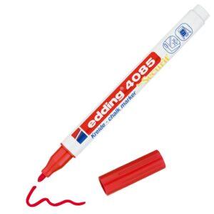 Marker za staklo CHALK MARKER E-4085 1-2mm standard crvena Edding