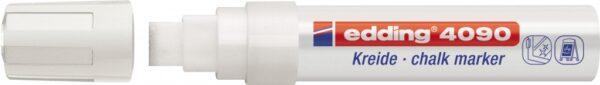 Marker za staklo CHALK MARKER E-4090 4-15mm bela Edding