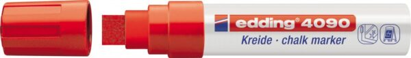 Marker za staklo CHALK MARKER E-4090 4-15mm crvena Edding