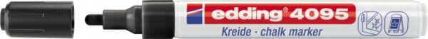 Marker za staklo CHALK MARKER E-4095 2-3mm crna Edding
