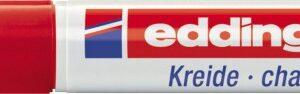 Marker za staklo CHALK MARKER E-4095 2-3mm crvena Edding