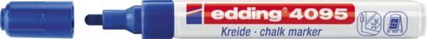 Marker za staklo CHALK MARKER E-4095 2-3mm plava Edding