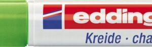 Marker za staklo CHALK MARKER E-4095 2-3mm svetlo zelena Edding