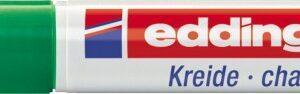 Marker za staklo CHALK MARKER E-4095 2-3mm zelena Edding