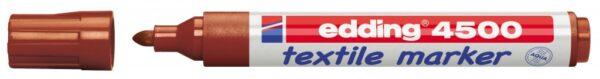 Vodootporni marker T-SHIRT E-4500 2-3mm braon Edding