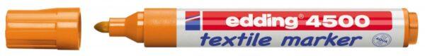Vodootporni marker T-SHIRT E-4500 2-3mm narandžasta Edding