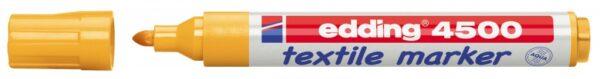 Vodootporni marker T-SHIRT E-4500 2-3mm neon narandžasta Edding