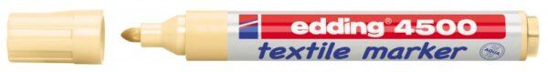 Vodootporni marker T-SHIRT E-4500 2-3mm svetlo narandžasta Edding