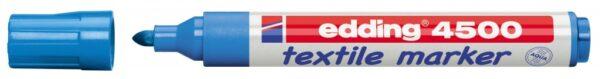 Vodootporni marker T-SHIRT E-4500 2-3mm svetlo plava Edding