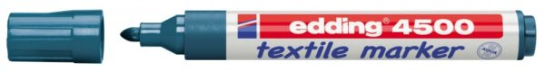 Vodootporni marker T-SHIRT E-4500 2-3mm tamno plava Edding