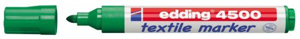 Vodootporni marker T-SHIRT E-4500 2-3mm zelena Edding