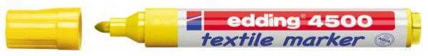 Vodootporni marker T-SHIRT E-4500 2-3mm žuta Edding
