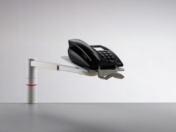 Stalak za telefon Scopemaster siva Novus