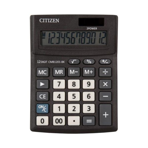Stoni kalkulator Citizen CMB-1201-BK, 12 cifara