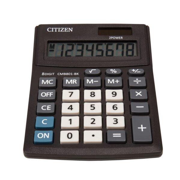 Stoni kalkulator Citizen CMB-801-BK, 8 cifara