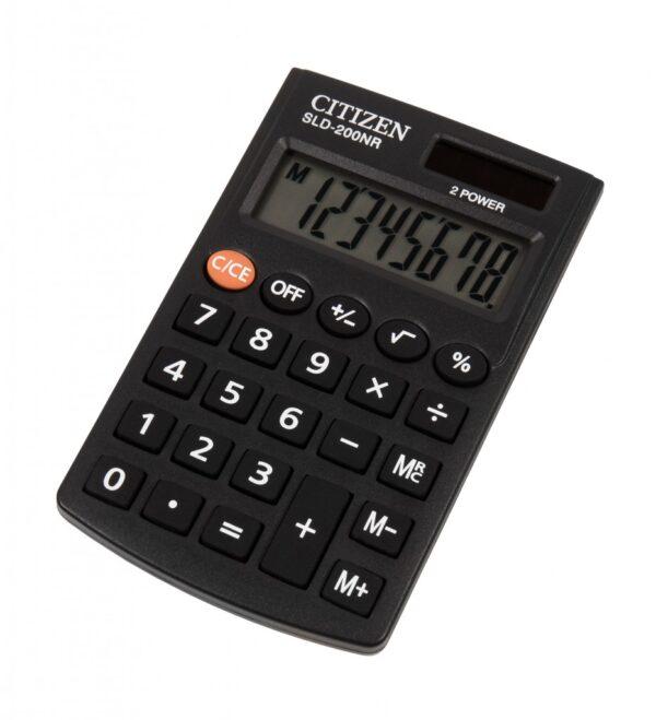 Džepni kalkulator Citizen SLD 200, 8 cifara