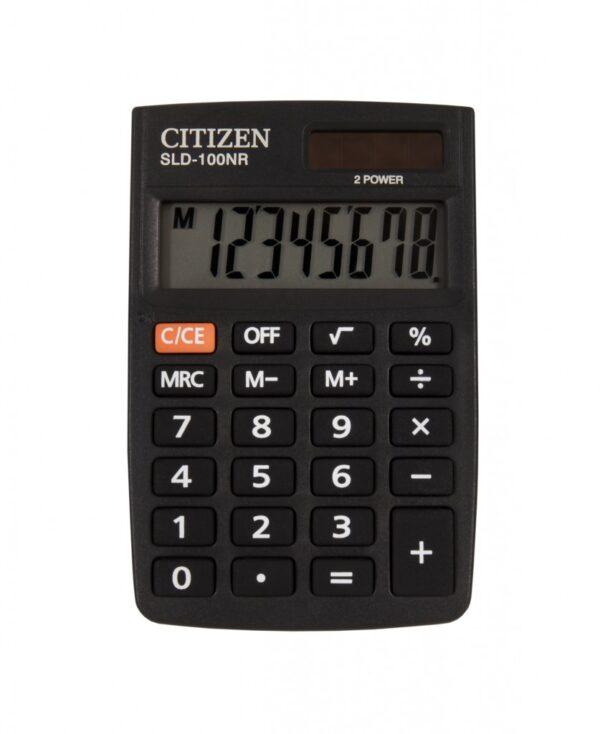 Džepni kalkulator Citizen SLD-100NR, 8 cifara