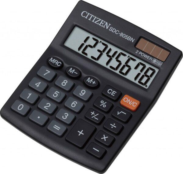 Stoni kalkulator Citizen SDC-805NR, 8 cifara