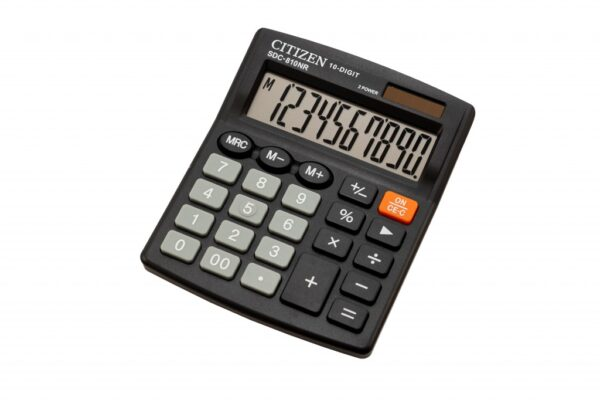 Stoni kalkulator CITIZEN SDC-810NR , 10 cifara