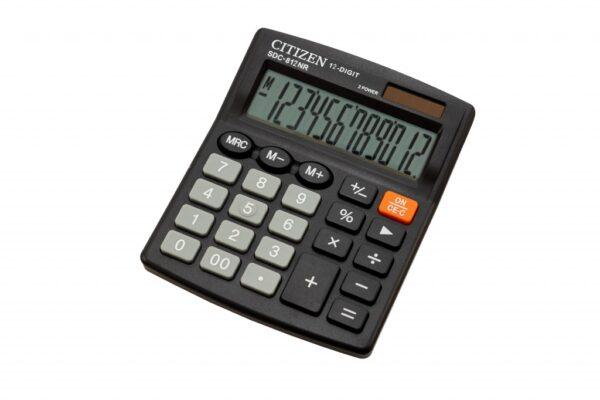 Stoni kalkulator CITIZEN SDC-812NR, 12 cifara